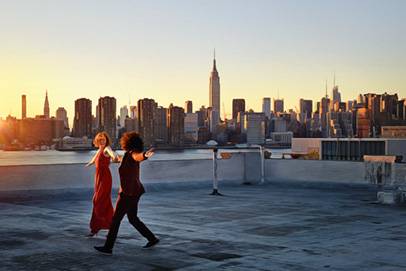 Dancing on the rooftop